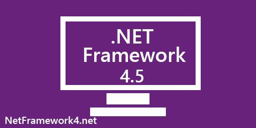 net framework 4.5 descargar para windows gratis microsoft